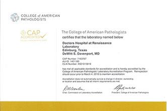 Renaissance Laboratories Dhr Health Edinburg Texas I M A Provider